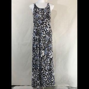 Ann Taylor LOFT Aloha Print Maxi Sun Dress XSP
